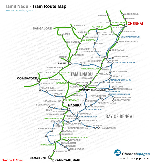 southern railway route map Train Route Suburban Railway Suburban Electric Trains Route southern railway route map